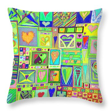 find U'r Love found    v18 Throw Pillow
