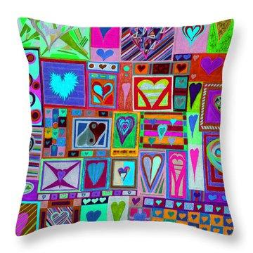 find U'r love found v1 Throw Pillow