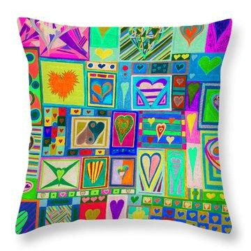 find U'r Love found    v14 Throw Pillow