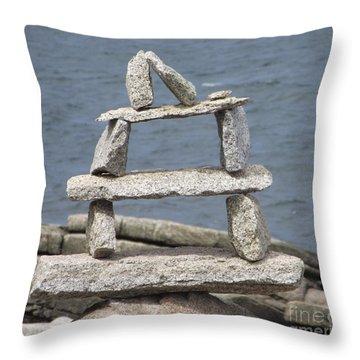 Finding Balance Throw Pillow