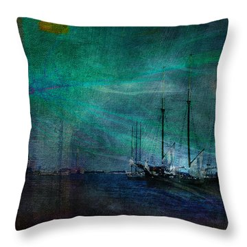 Finding Home Throw Pillow by Robin Webster