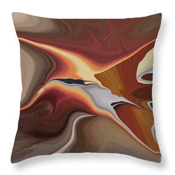 Finding Your Way Throw Pillow by Deborah Benoit