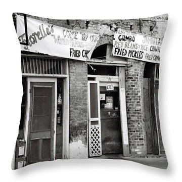 Fiorellas Throw Pillow