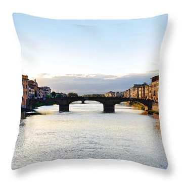 Firenze - Italia Throw Pillow