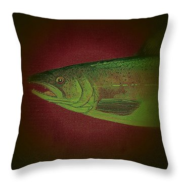 Fish 10 Throw Pillow