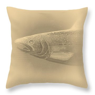Fish 11 Throw Pillow