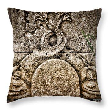 Fish Astrology Throw Pillow