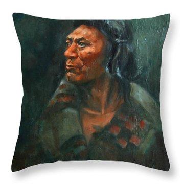 Fish Hawk Throw Pillow