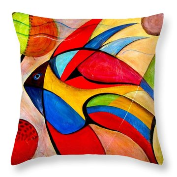 Fish IIi Throw Pillow