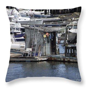 Fish Shack Throw Pillow
