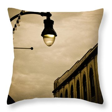 Fisher Street Facades Throw Pillow by Jessica Brawley