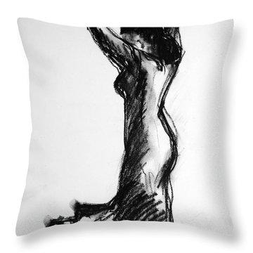 Flamenco Sketch 3 Throw Pillow