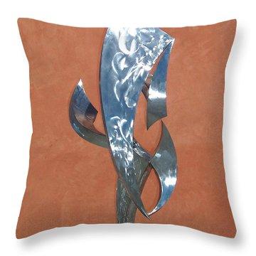 Flight Of Daphne Throw Pillow by John Neumann
