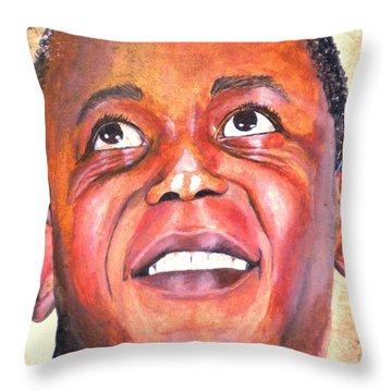 Flip Wilson 1970 Throw Pillow