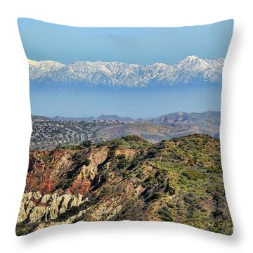 Floating In The Sky Throw Pillow by Mariola Bitner