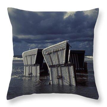 Flood Throw Pillow by Joana Kruse