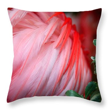 Throw Pillow featuring the photograph Flora And Fauna Number One by Lon Casler Bixby