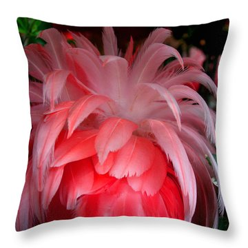 Throw Pillow featuring the photograph Flora And Fauna Number Two by Lon Casler Bixby