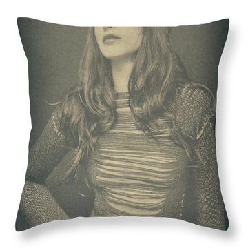 Florence  Throw Pillow by Pawel Piatek