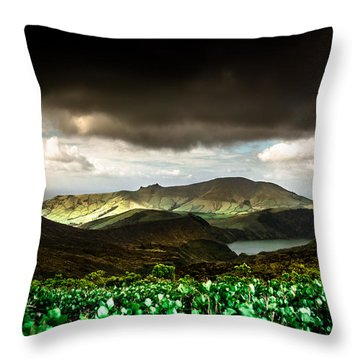 Flores Island - Azores Throw Pillow