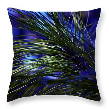 Florida Grass Throw Pillow