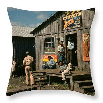 Florida: Workers, 1941 Throw Pillow by Granger