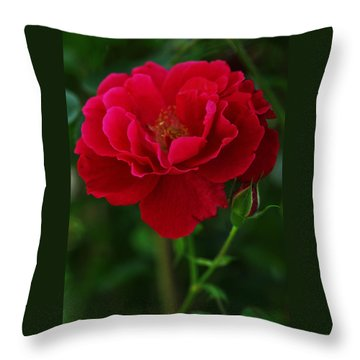 Flower Of Love Throw Pillow