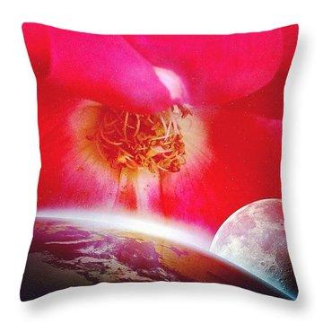 Roses Throw Pillows
