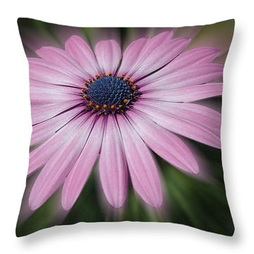 Flower Zoom Throw Pillow