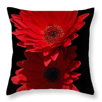 Flowers From My Son Throw Pillow by Cindy Manero