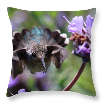 Flowers Throw Pillow by Paul Marto