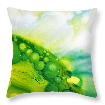 Fluidism Aspect 35 Photography Throw Pillow