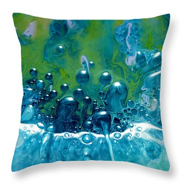 Fluidism Aspect 52 Photography Throw Pillow