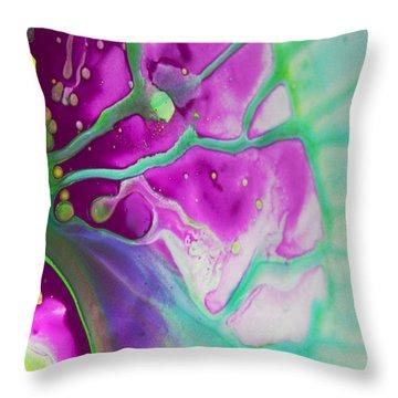 Fluidism Aspect 524 Photography Throw Pillow by Robert Kernodle