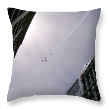Fly High With Me Throw Pillow