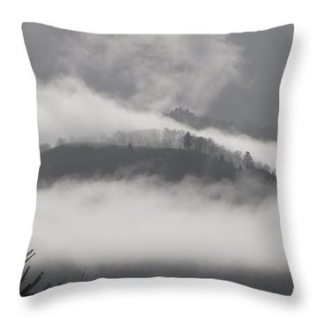 FOG Throw Pillow by Katie Wing Vigil