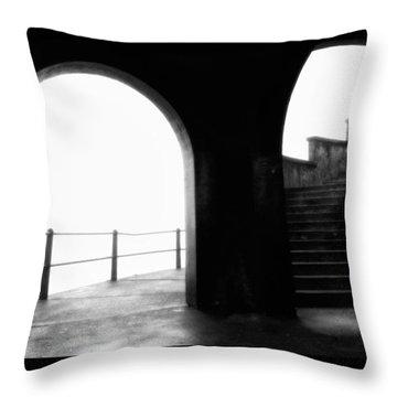 Foggy Day H-1b Throw Pillow by Mauro Celotti