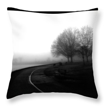 Foggy Day H-3 Throw Pillow by Mauro Celotti