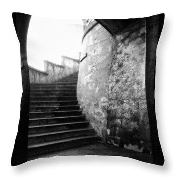 Foggy Day V-1 Throw Pillow by Mauro Celotti