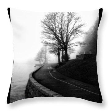 Foggy Day V-6 Throw Pillow by Mauro Celotti