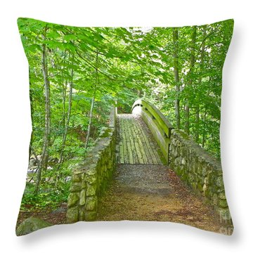 Throw Pillow featuring the photograph Follow Me by Eve Spring