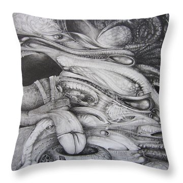 Fomorii General Throw Pillow by Otto Rapp