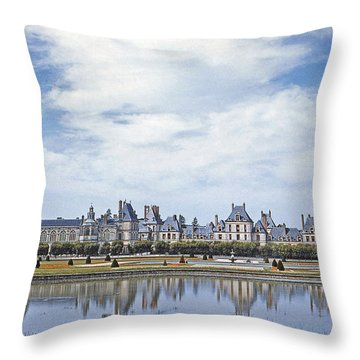 Fontainebleau Palace  Throw Pillow