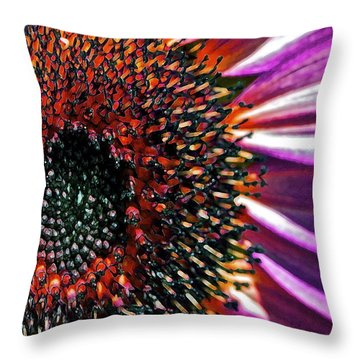 For Ana Throw Pillow by Gwyn Newcombe