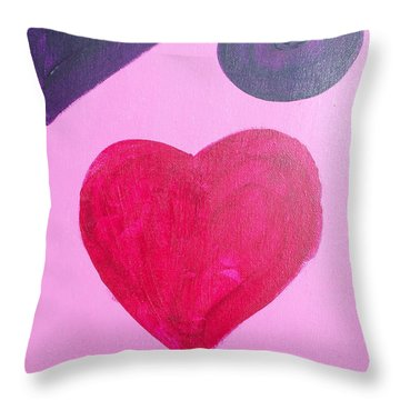 For Kids Throw Pillow