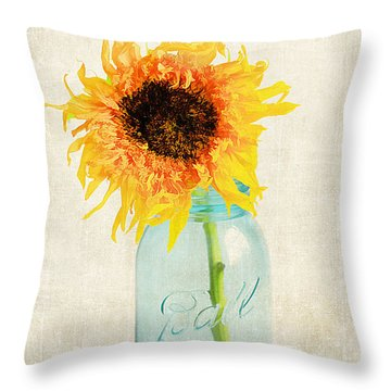 For My Friend Throw Pillow by Darren Fisher