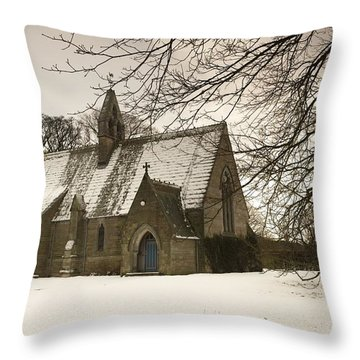 Ford, Northumberland, England Country Throw Pillow by John Short