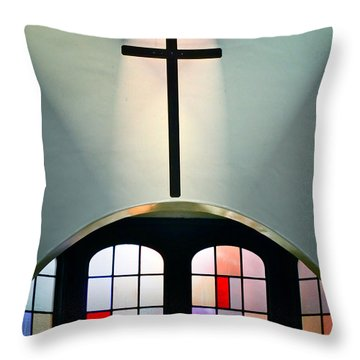 Forgiveness Throw Pillow by Gwyn Newcombe