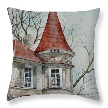 Forgotten Lady...sold Throw Pillow
