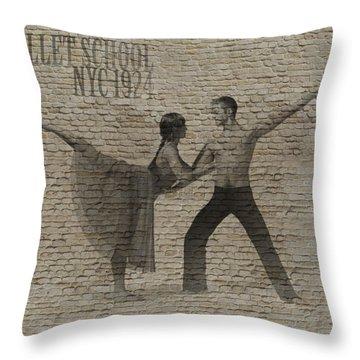 Forgotten Romance 2 Throw Pillow by Naxart Studio